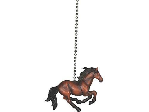 Rivеrs еdgе Home Decor Horse Western Cowboy Ceiling Fan Light ()