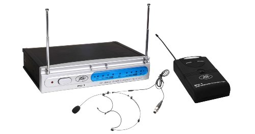 400 Single Mhz Channel (Peavey PV1V1BHS203400 400 MHz VHF Headset Wireless Microphone System)