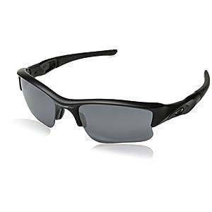 Oakley Men's Flak Jacket XLJ Square Eyeglasses,Matte Black,63 mm