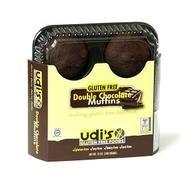 - Udi's Gluten Free Double Chocolate Muffins