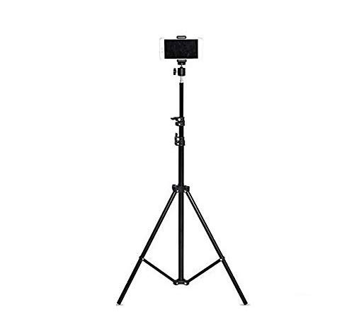 Teconica BN-M2V 7 Feet Extra Long Mount Stand for Video Shoot/DSLR Cameras/All Type Video Shooting Studio Tripod and Compatible with All Mobiles & Cameras (Black)