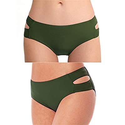BIKINX V Neck Tankini Swimsuits for Women Criss Cross Back Two Piece Swimwear Plus Size Tummy Control Bathing Suits: Clothing