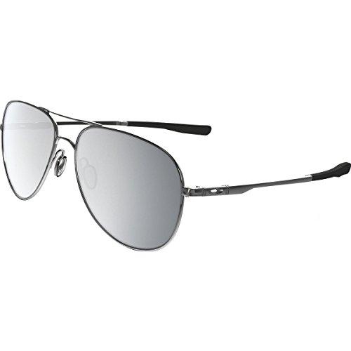 Oakley Elmont M and L Non-Polarized Iridium Aviator Sunglasses, Polished Chrome, 60 - Oakley Chrome