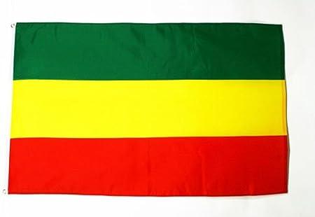 AZ FLAG Bandera de ETIOPIA SIN Armas 150x90cm - Bandera ETÍOPE SIN Escudo 90 x 150 cm: Amazon.es: Hogar