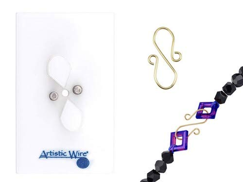 Artistic Wire 1-Piece S-Hook Jig Findings Forms