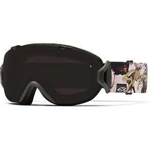 Smith IOS Interchangeable Goggles with Bonus Lens Elena Deco/Blackout/Extra Red Sensor, One Size