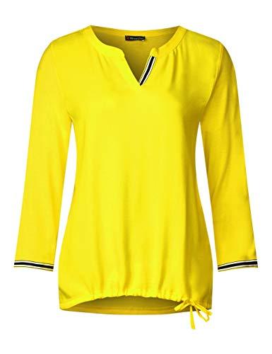 Larga Yellow 11708 Para One Mujer De Gelb Manga Street Camiseta sunshine pxwOI