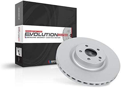 Power Stop EBR1488EVC Evolution Genuine Geomet Coated RearBrake Rotor
