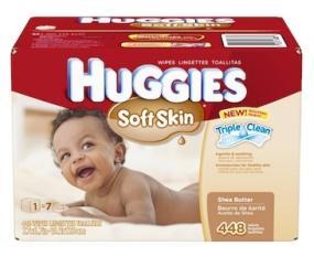 Huggies Soft Skin Wipes