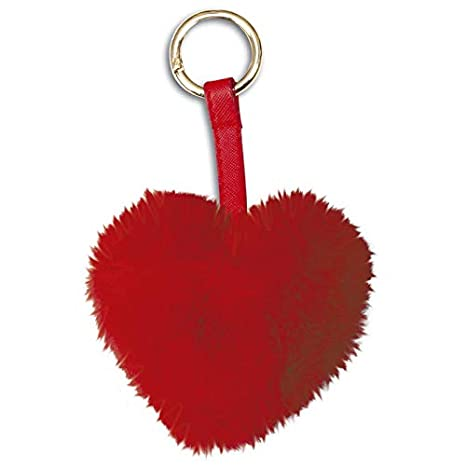 Amazon.com: Red Heart Plush Key Chain: Office Products