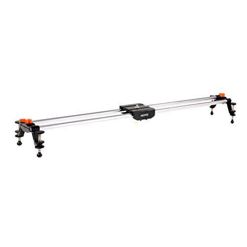 Movo Photo BST100 39' Rail Camera Track Slider With Linear Bearing Sliding Platform with Carrying Case
