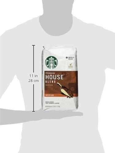 Starbucks House Blend Whole Bean Coffee, 40-Ounce Bag