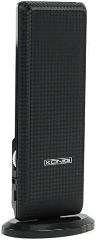 König KN-DVBT-IN52L - Antena TDT de interior con filtro LTE ...