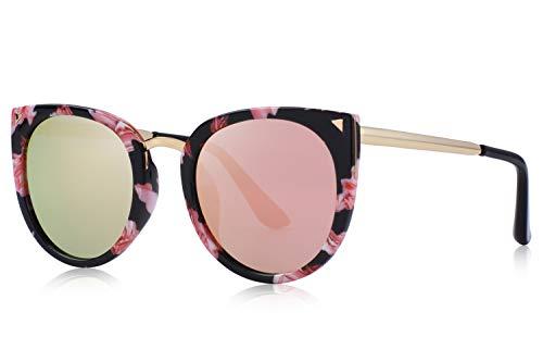 MERRY'S Girls Cat Eye Sunglasses for kids Children Polarized Sunglasses S7001