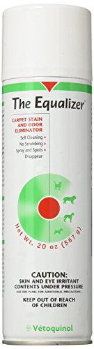 Equalizer Carpet Stain Odor Eliminator 14oz aerosol