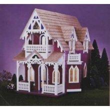 Dollhouse Miniature The Vineyard Cottage by Greenleaf by Corona/Greenleaf Steel Rule Di by Corona/Greenleaf Steel Rule Di