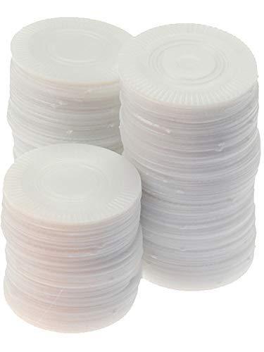 (U.S. Toy Plastic White Poker Chips (2-Pack of)