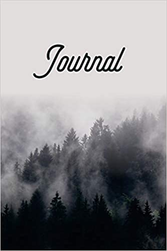 Journal: Outdoors Notebook 150 Pages Fog Forest 6x9 Lined Pages Diary Journal
