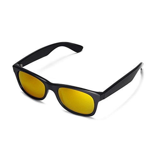 966b1ab173 Walleva Replacement Lenses for Ray-Ban Wayfarer RB2132 52mm Sunglasses - 9  Options Available