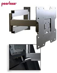Articulating Arm Wall Mount for Flat Panel TVs for 19 to 40 Screens