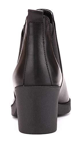 Up Flexx Ankle Black Heel The Boot Grade Woman vOI565nxd