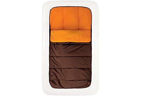 The Shrunks Toddler Travel Bed Portable Inflatable Air Mattress Bed for Toddlers for Travel or Home Use