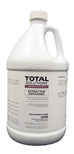 Extractor Defoamer, Concentrated Anti-Foam Additive - 4 Gallons by EcoClean Solutions