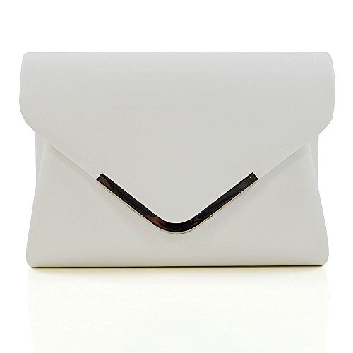 Glam Leather Clutch - 3