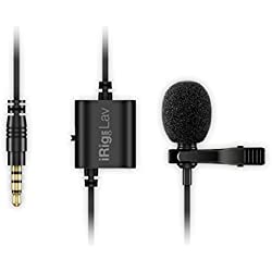 IK Multimedia iRig Mic Lav compact lavalier microphone for smartphones and tablets (two-pack)