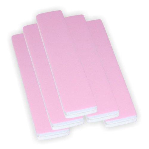 5x High Polish Jumbo Polierfeile der neuen Generation pink / weiss