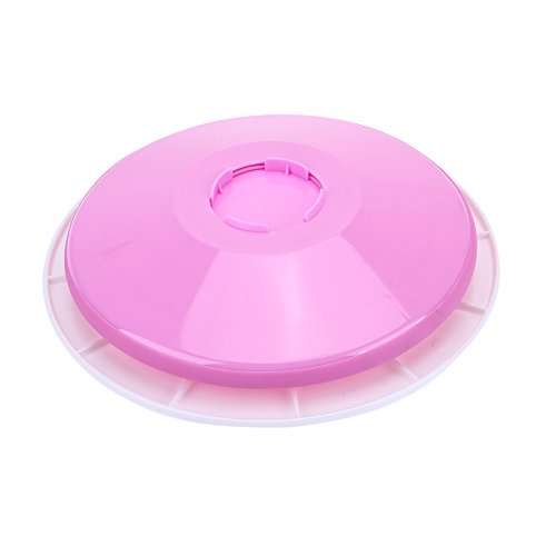 Price comparison product image Awakingdemi Cake Turntable ,  Rotating Cake Stand Decorating Set ,  29cm Turntable Cake Stand Plastic Pedestal with Icing Tools