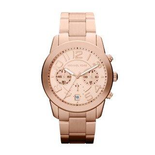 Michael Kors MK5727 Women's Mercer Rose Gold-Tone Stainless Steel Bracelet Chronograph Watch (Gold Mercer Watch)