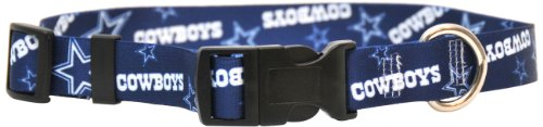 Yellow Dog Design Dallas Cowboys Licensed NFL Dog Collar, X-Small, 8-Inch by 12-Inch, My Pet Supplies