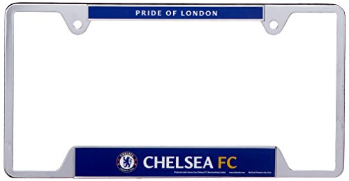 Manchester United License Plate - WinCraft Soccer Chelsea FC Metal License Plate Frame