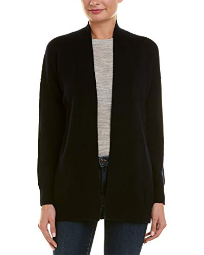 Vince Womens Dropped-Shoulder Wool & Cashmere-Blend Cardigan, Xs, Blue