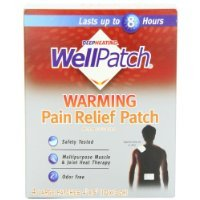 Wellpatch Warming Pain Relief Pads, 4 (Jarrow Pain Relief)