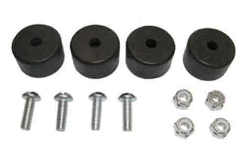 SAS Safety 9700-06 1/2 and 3/4 HP Rubber-Feet with Screws