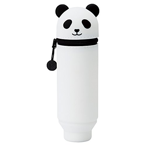 LIHIT LAB. PuniLabo Stand Up Pen Case (Pen Holder), Panda, 2.4