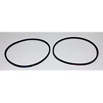 GENUINE MTD 954 0430B Set Of 2 Cogged Auger Belts Replaces 754 OEM