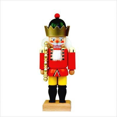 Ulbricht Red and Yellow Dignified King Nutcracker