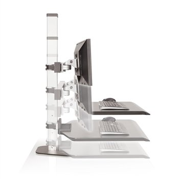 Innovative Office Products WNST-2-124 DUAL MONITOR FREESTANDING SIT STAND by INNOVATIVE OFFICE PRODUCTS INC