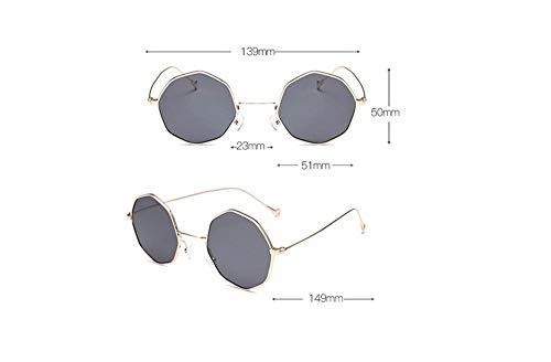 Femmes amp;2sok Polygonales Et De Irrégulières Mode Pour Uv400 C Hommes Protection Sk Uv Sonnenbrille,lunettes Lunettes Soleil dwXxdvp