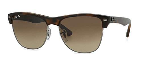 Ray Ban Oversized Clubmaster RB4175 878/51 Tortoise/Light Brown Gradient 57mm - Clubmaster Flash Lenses Oversized