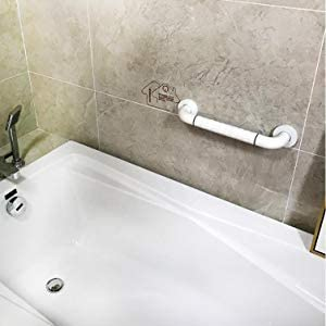 [スポンサー プロダクト]お風呂てすり トイレ用手すり 手すり 40cm*2pk 介護 防錆抗菌 転倒防止 高齢者 浴槽 浴室 トイレハンドル 静電無し 取っ手 日本語説明書付き