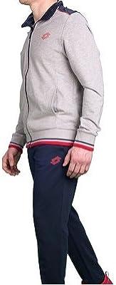 Lotto Mason Vi Suit FT - Chándal, Hombre, Gris(GRY DKM/NVY ...