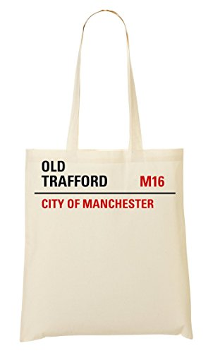 Shutup Old Trafford Manchester Handbag Shopping Bag