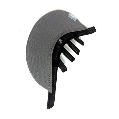 Giro Aspect Bicycle Helmet Soft Cloth Visor (Gray - S/M)