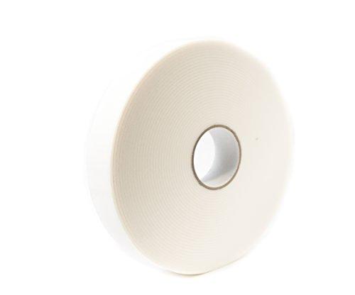 Bertech Double Sided White PE Foam Tape, 1/8