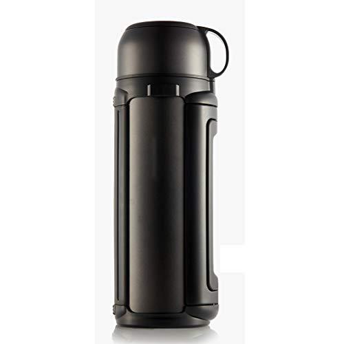 XUEZM Thermos Mug,Edelstahl Outdoor Große Kapazität Auto Isolierung Topf Edelstahl Haushalt Isolierung Tasse Thermoskanne Wasserkocher (größe   1.2L)