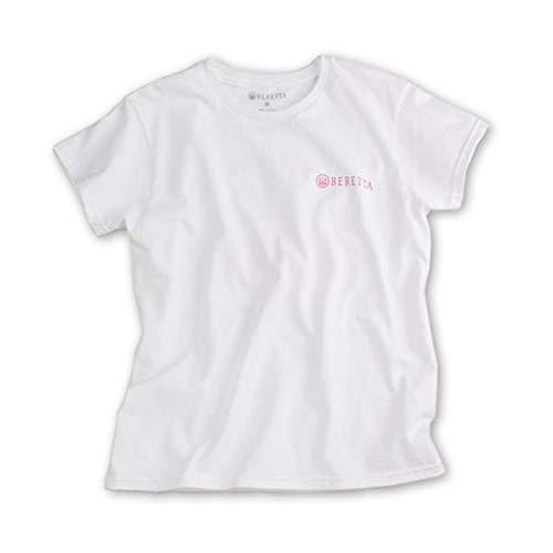 - Beretta Women's Trident T-Shirt, White, Small